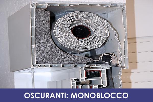 Monoblocco new vision serramenti for Finestre pvc con tapparelle